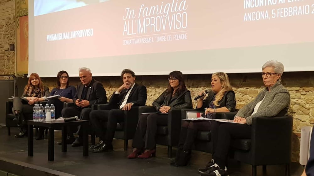 Tumore Al Polmone Ad Ancona La Campagna Della Nuova Narrativa Della Malattia