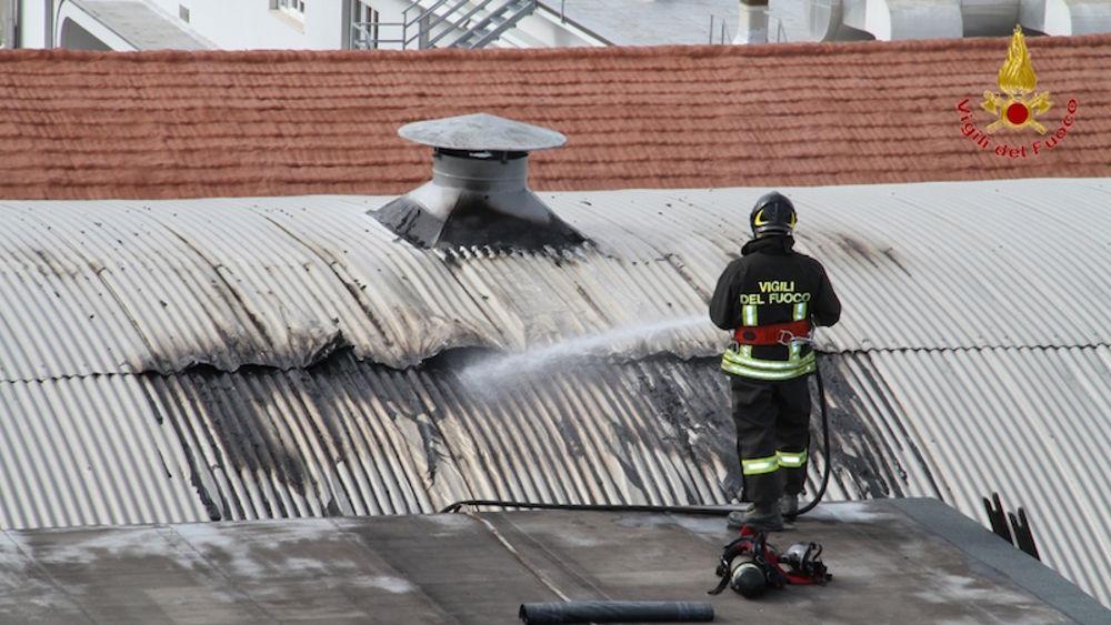 Filottrano incendio sul tetto di un capanno - B b le finestre sul centro jesi an ...